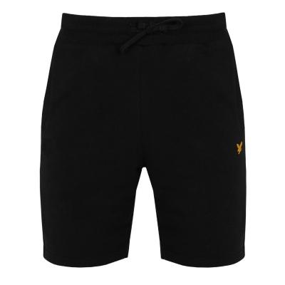 Pantaloni scurti Lyle and Scott Sport Sport Piping true negru
