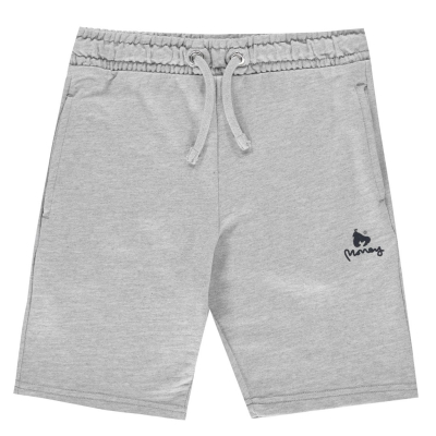 Pantaloni scurti Money Jersey vintage gri