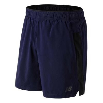 Pantaloni scurti New Balance Core 2in1 alergare pentru Barbati bleumarin