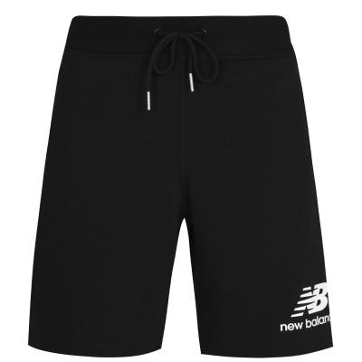 Pantaloni scurti New Balance Logo negru
