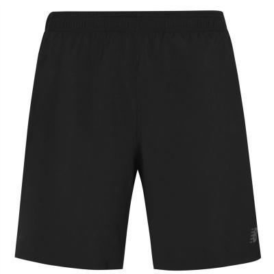Pantaloni scurti New Balance 2-in-1 alergare pentru Barbati negru