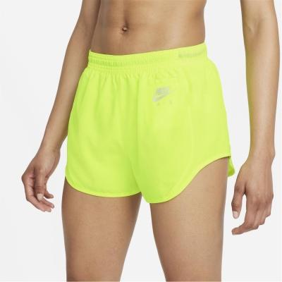 Pantaloni scurti Nike Air Dri-FIT 3 alergare pentru femei galben