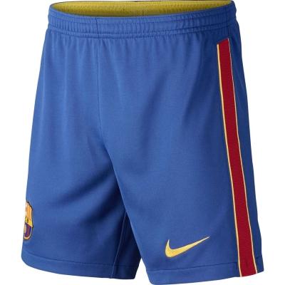Pantaloni scurti Nike Barcelona Acasa 2020 2021 pentru copii albastru