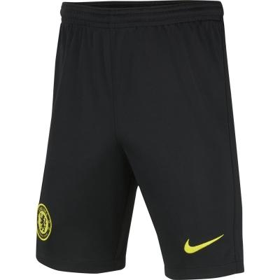 Pantaloni scurti Nike Chelsea Away 2021 2022 pentru copii negru