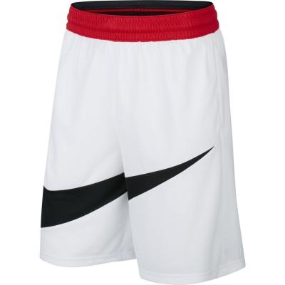Pantaloni scurti Nike Dri-FIT baschet pentru Barbati alb negru
