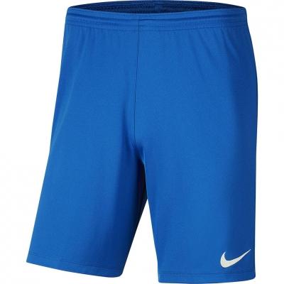 Pantaloni scurti Nike Dry Park III NB K albastru BV6855 463 barbati