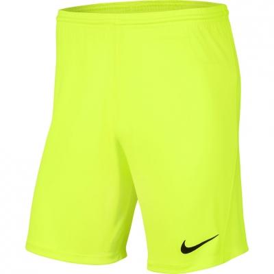 Pantaloni scurti Nike Dry Park III NB K barbati verde BV6855 702
