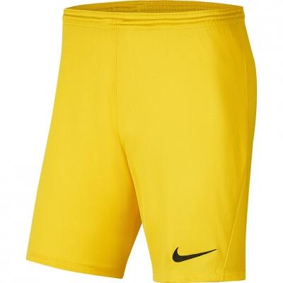 Pantaloni scurti Nike Dry Park III NB K galben barbati BV6855 719