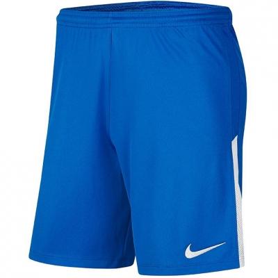 Pantaloni scurti Nike League tricot II NB albastru BV6852 463 pentru Barbati