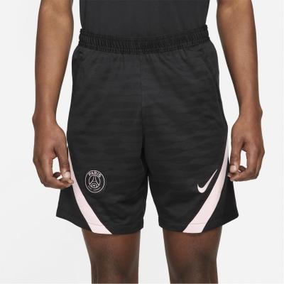Pantaloni scurti Nike Paris Saint Germain Strike 2021 2022 pentru Barbati negru roz