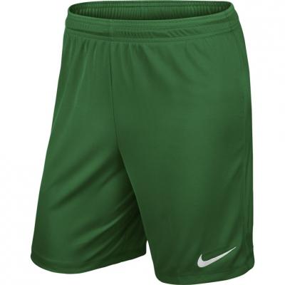 Pantaloni scurti NIKE PARK II tricot SHORT NB verde / 725887 302 barbati