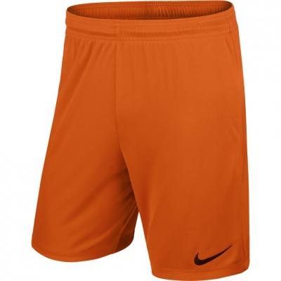 Pantaloni scurti NIKE PARK II tricot SHORT NB portocaliu / 725887 815 barbati