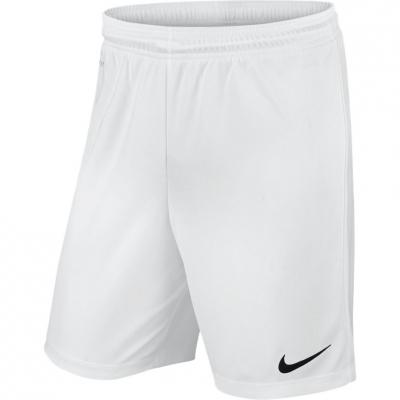 Pantaloni scurti NIKE PARK II tricot SHORT NB alb / 725988 100 copii