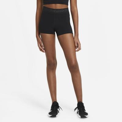 Pantaloni scurti Nike Pro 3 Inch pentru femei negru gri