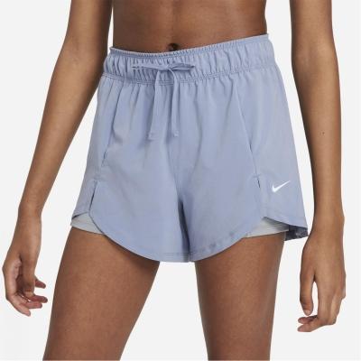 Pantaloni scurti Nike Pro Flex 2-in-1 pentru femei gri