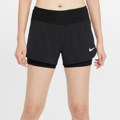 Pantaloni scurti Nike Pro Flex 2-in-1 pentru femei negru
