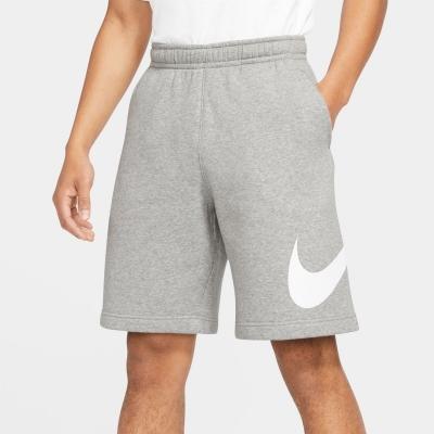 Pantaloni scurti Nike Sportswear Club imprimeu Graphic pentru Barbati inchis gri