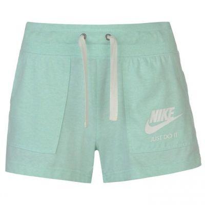 Pantaloni scurti Nike Vintage pentru Femei menta