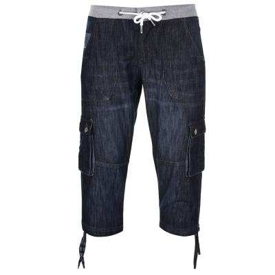 Pantaloni scurti No Fear Reflect pentru Barbati inchis albastru