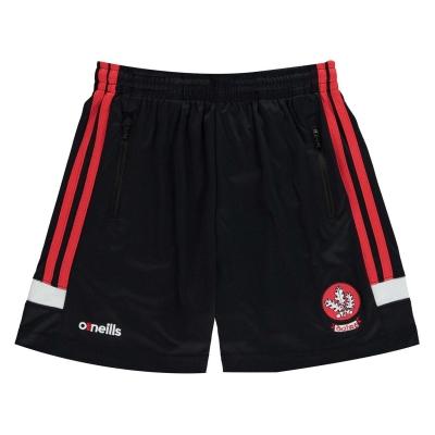 Pantaloni scurti ONeills Derry pentru copii negru rosu alb