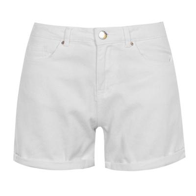 Pantaloni scurti blugi Only pentru Femei alb