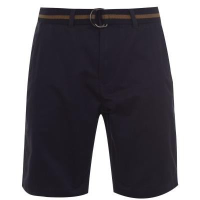 Pantaloni scurti Pantaloni chino cu curea Pierre Cardin C pentru Barbati bleumarin