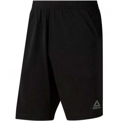Pantaloni scurti sport barbati Reebok TE negru D94207