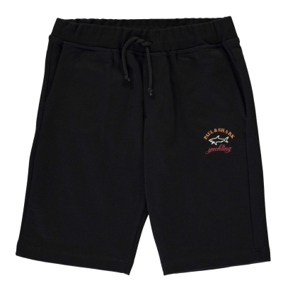 Pantaloni scurti Paul And Shark Crew Badge negru