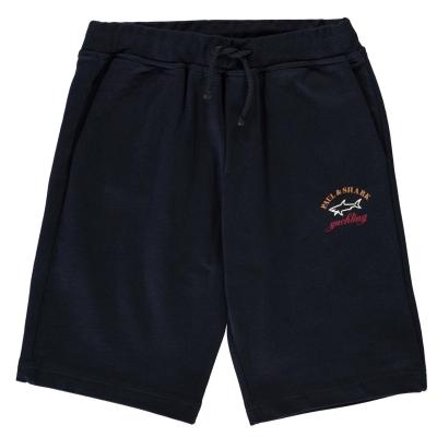 Pantaloni scurti Paul And Shark Crew Badge bleumarin
