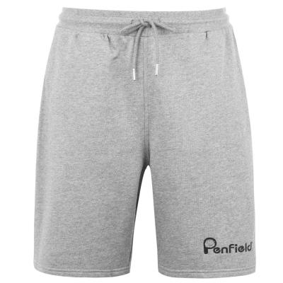 Pantaloni scurti Penfield Plain gri