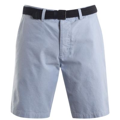 Pantaloni scurti Pierre Cardin Oxford Chino pentru Barbati albastru