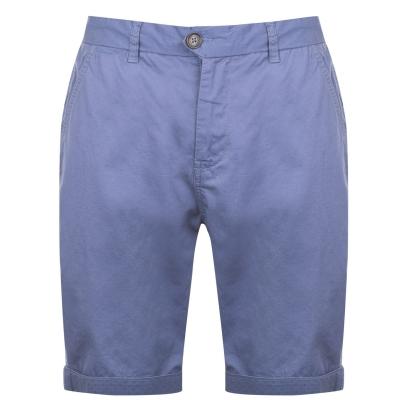 Pantaloni scurti Pierre Cardin Roll pentru Barbati denim albastru