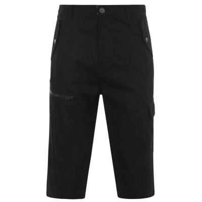 Pantaloni scurti Pierre Cardin trei sferturi Woven pentru Barbati negru