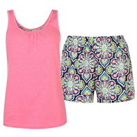 Pantaloni scurti Pijamale Rock and Rags Vest and