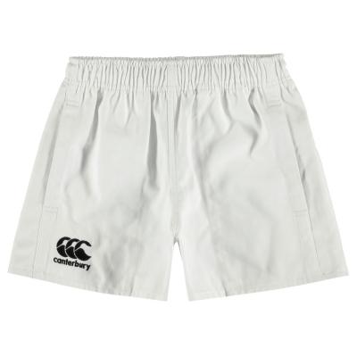 Pantaloni scurti Canterbury Pro Rugby pentru baietei alb