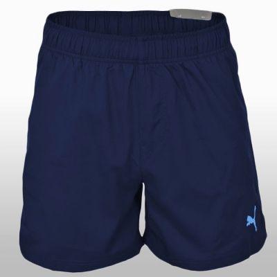 Pantaloni scurti bleumarin Puma Ess Woven Shorts 5 Peacoat-fr Barbati