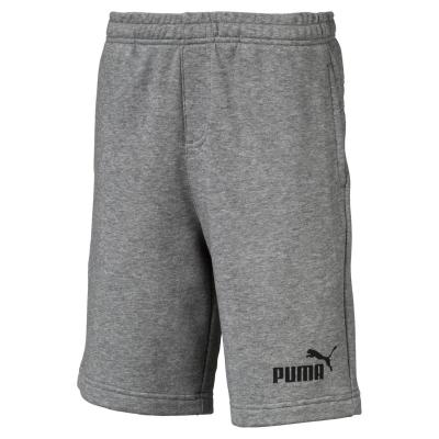 Pantaloni scurti Puma No 1 pentru baietei med gri