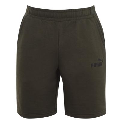 Pantaloni scurti Puma No 1 pentru Barbati verde bleumarin