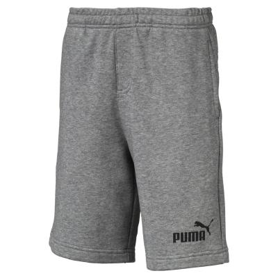 Pantaloni scurti Puma No1 baietei med gri