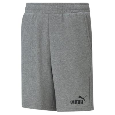 Pantaloni scurti Puma No1 pentru baietei med gri