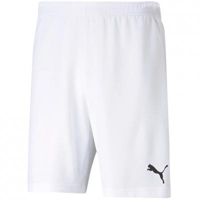 Pantaloni scurti Puma TeamRISE Short alb 704942 03 pentru Barbati