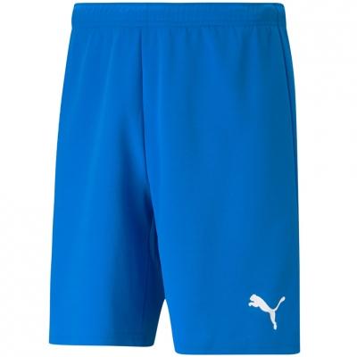 Pantaloni scurti   Puma TeamRISE Short Electric albastru Lemo albastru 704942 02 pentru Barbati