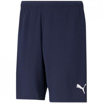 Pantaloni scurti Puma TeamRISE Short Peacoat bleumarin 704942 06 pentru Barbati