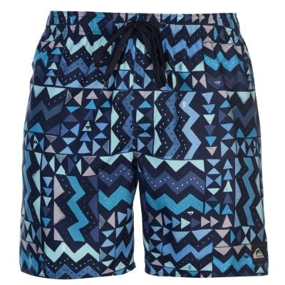 Pantaloni scurti Quiksilver Check Knock Board pentru Barbati real bleu