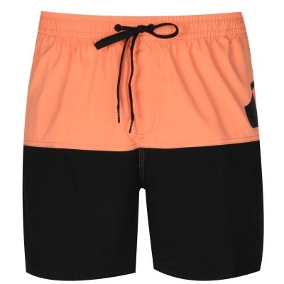 Pantaloni scurti Quiksilver Colour Block Board pentru baietei nectarine negru