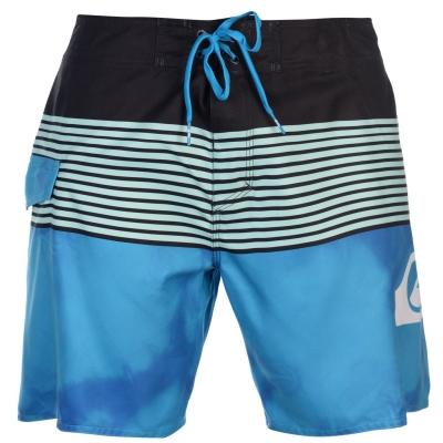 Pantaloni scurti Quiksilver Smocked Wave Board pentru Barbati negru albastru