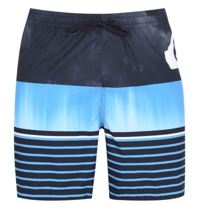 Pantaloni scurti Quiksilver Swell Vis Jamme negru albastru
