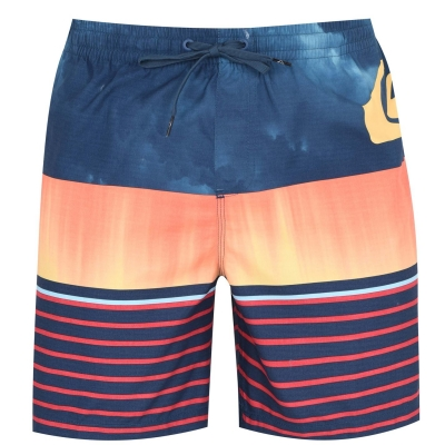 Pantaloni scurti Quiksilver Swell Vis Jamme vibrant albastru