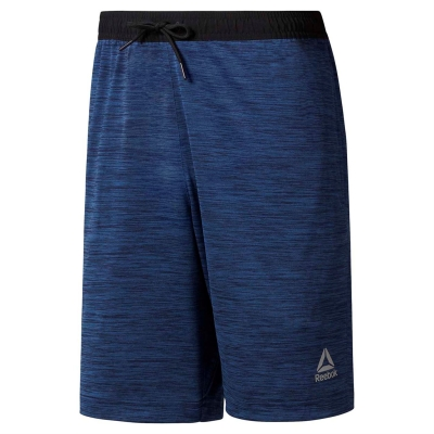 Pantaloni scurti Reebok Workout tricot pentru Barbati bunker albastru