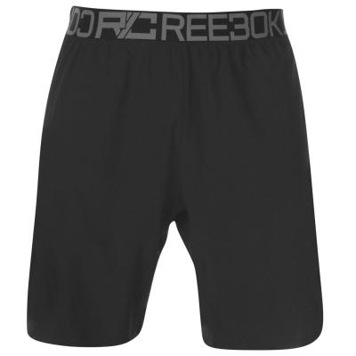 Pantaloni scurti Reebok Woven pentru Barbati negru